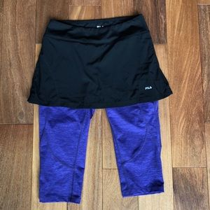 Fila Skirt with attached leggings S